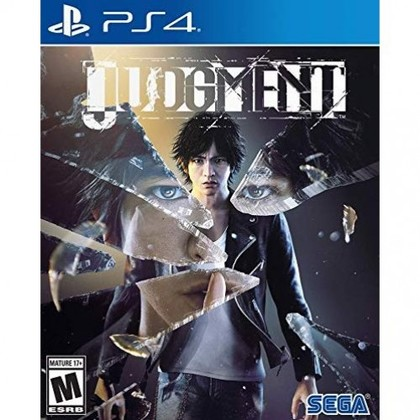 PS4 JUDGMENT R3 ENGLISH VERSION
