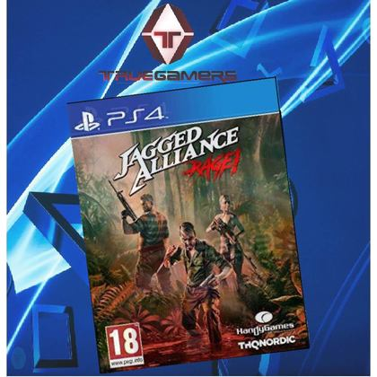 PS4 JAGGED ALLIANCE RAGE R2