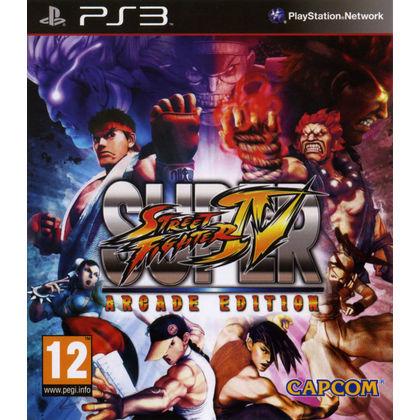 PS3 SUPER STREET FIGHTER IV ARCADE EDITION R2