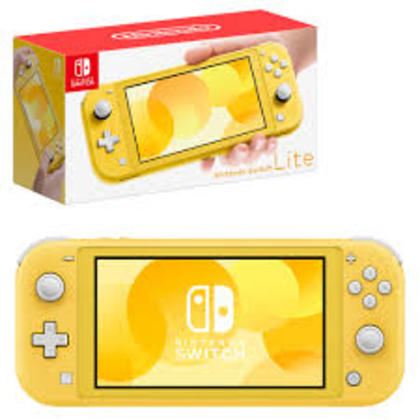 NINTENDO SWITCH LITE YELLOW ASIA SET 1 YEAR WARRANTY