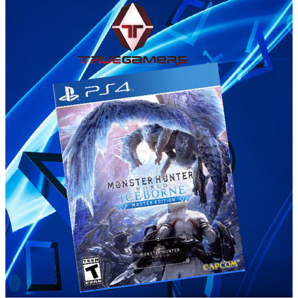 PS4 MONSTER HUNTER WORLD ICEBORNE MASTER EDITION R3 CHN/ENG + CONTROLLER HOLDER