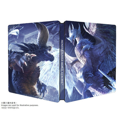 MONSTER HUNTER ICEBORNE STEEL BOOK ONLY  ( NO INCLUDED GAMES )
