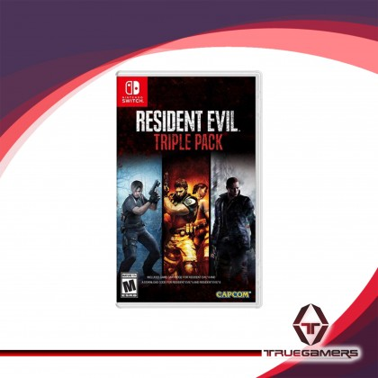 SWITCH RESIDENT EVIL TRIPLE PACK ENGLISH VER