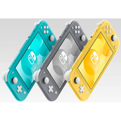 NINTENDO SWITCH LITE YELLOW LOCAL SET 1 YEAR WARRANTY + FREE TEMPERED GLASS + CARRY CASE