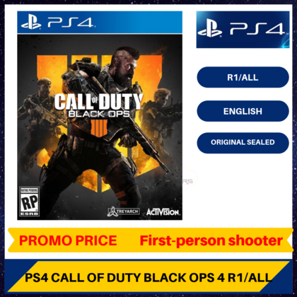 PS4 CALL OF DUTY BLACK OPS 4 - R2