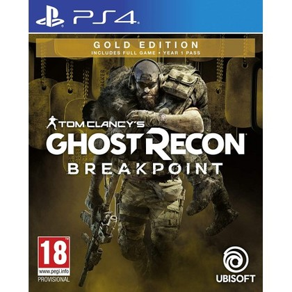 PS4 TOM CLANCYS GHOST RECON BREAKPOINT GOLD EDITION - R3