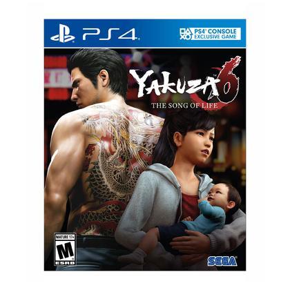 PS4 YAKUZA 6 THE SONG OF LIFE R1 ENGLISH