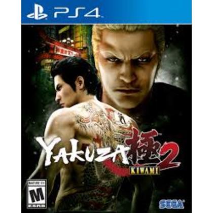 PS4 YAKUZA KIWAMI 2 R1 ENGLISH