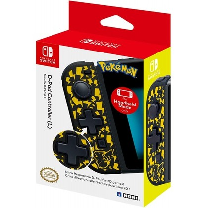 NINTENDO SWITCH HORI OFFICIAL D PAD CONTROLLER (L) POKEMON EDITION