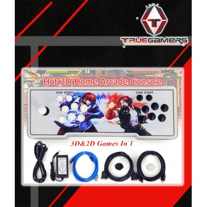 PANDORA BOX 11 - 2706 IN 1 GAMES  (拳皇/彩龍/紅龍/街霸5/街霸6/不知火舞)