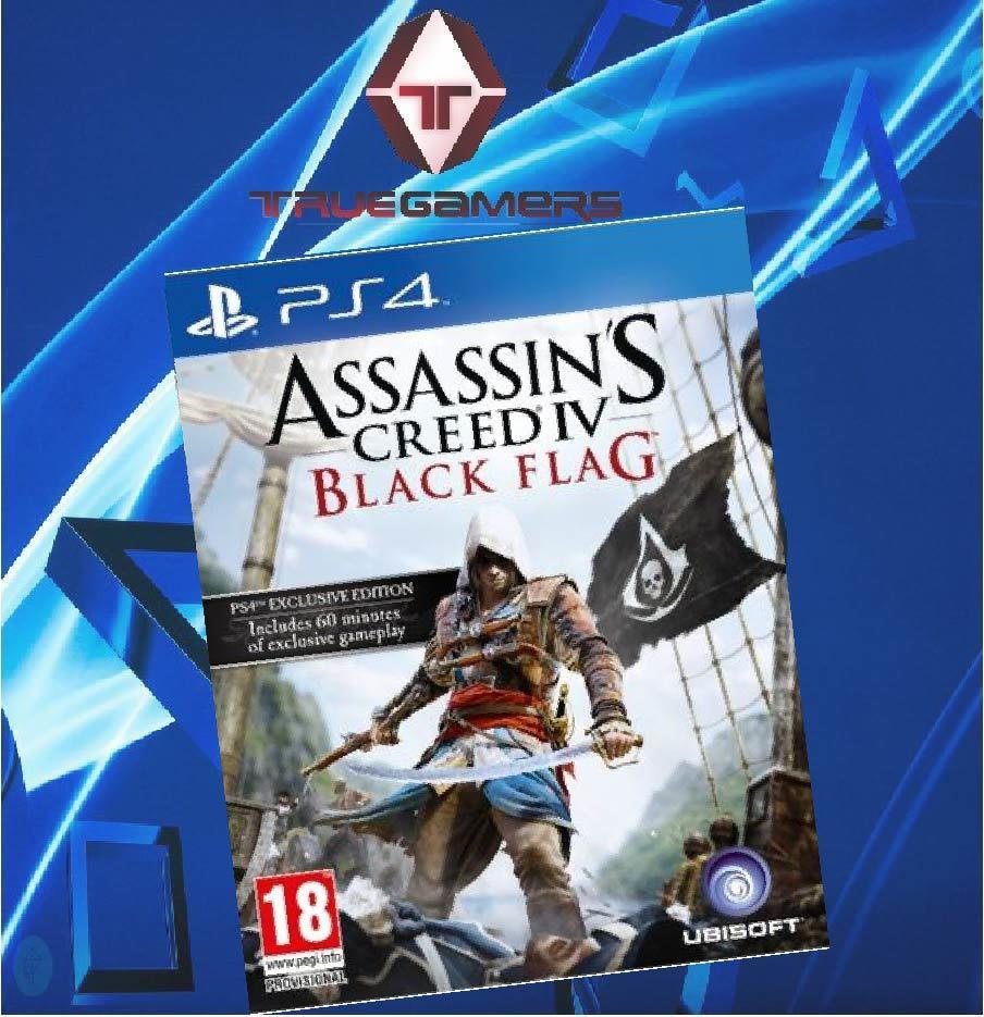 Ps4 Assassins Creed Iv Black Flag R2 English