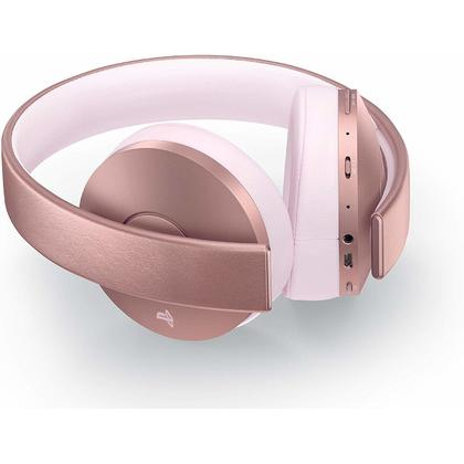PS4 SONY NEW GOLD 7.1 WIRELESS STEREO HEADSET - ROSE GOLD