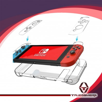 NINTENDO SWITCH CONSOLE CRYSTAL CASE