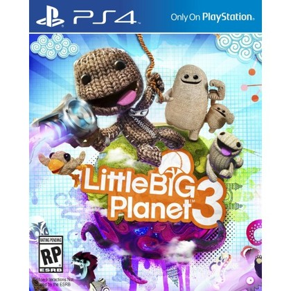 PS4 LITTLE BIG PLANET 3 - ALL ENGLISH