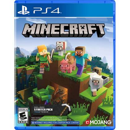 PS4 MINECRAFT STARTER PACK COLLECTION - R3 CHN/ENG