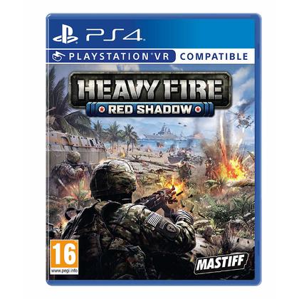 PS4 HEAVY FIRE RED SHADOW VR R2 ENGLISH