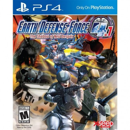 PS4 EARTH DEFENSE FORCE 4.1 THE SHADOW OF NEW DESPAIR R2 ENGLISH