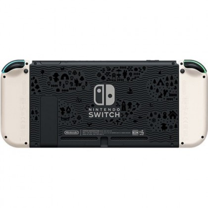 NINTENDO SWITCH CONSOLE ANIMAL CROSSING LIMITED EDITION - ASIA MAXSOFT + 3 RANDOM GAMES + 2 LABO + 2  ACC