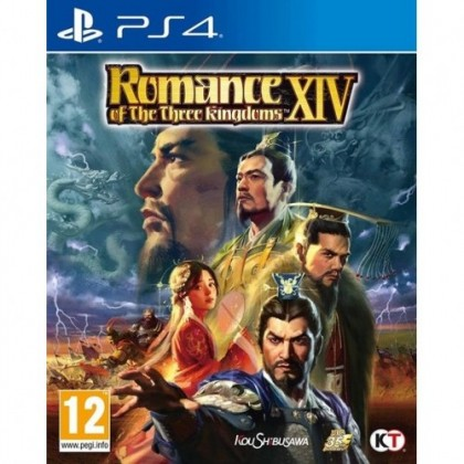 PS4 ROMANCE OF THE THREE KINGDOMS XIV R2 ENGLISH VERSION