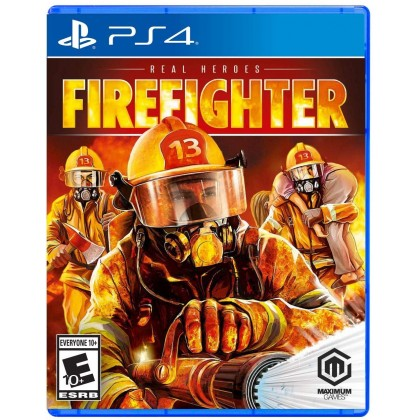 PS4 REAL HEROES FIREFIGHTER - R2 ENGLISH