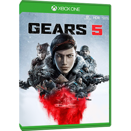 XBOX ONE X GEARS 5 LIMITED EDITION CONSOLE + XBOX ONE GEARS 5 PHYSICAL GAMES