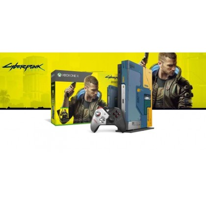 XBOX ONE X 1TB CYBERPUNK 2077 LIMITED EDITION + FREE 1 RANDOM GAMES