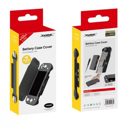 NINTENDO SWITCH LITE DOBE BATTERY CASE COVER WITH 5000MAH TNS-19151