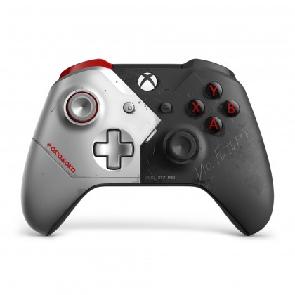 XBOX ONE WIRELESS CONTROLLER WITH 3.5MM JACK & BLUETOOTH CYBERPUNK 2077 LIMITED EDITION