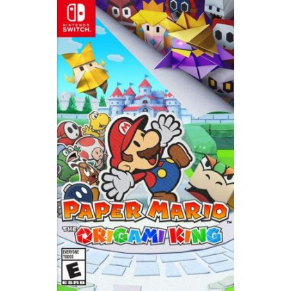 SWITCH PAPER MARIO THE ORIGAMI KING [PRE ORDER 17/07/2020]