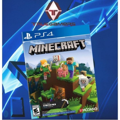 PS4 MINECRAFT STARTER PACK COLLECTION - R2 ENGLISH