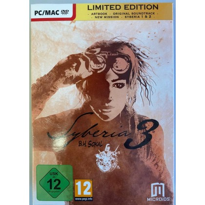 PC SYBERIA LIMITED EDITION - ENGLISH VERSION