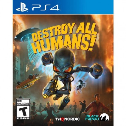 PS4 DESTROY ALL HUMANS ! - R2 ENG/CHN
