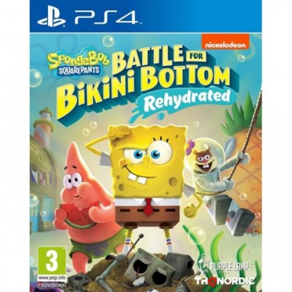 PS4 SPONGEBOB SQUAREPANTS : BATTLE OF THE BIKINI BOTTOM-REHYDRATED - R2
