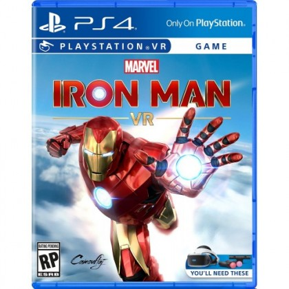 PS4 MARVEL IRON MAN VR - ALL ENG/CHN