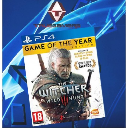 PS4 THE WITCHER 3 WILD HUNT GAME OF THE YEAR ENG R2