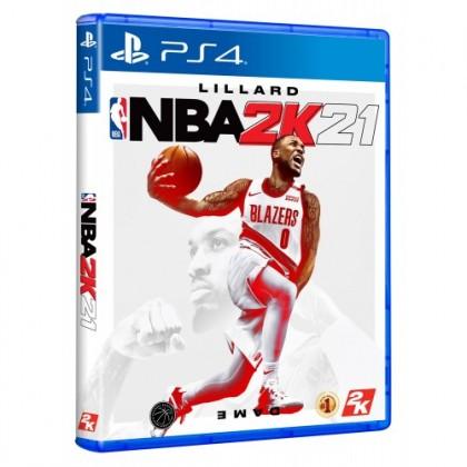 PS4 NBA 2K21 - R3 STANDARD EDITION + FREE KEY CHAIN