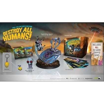 PS4 DESTROY ALL HUMANS ! DNA COLLECTORS EDITION  - R2