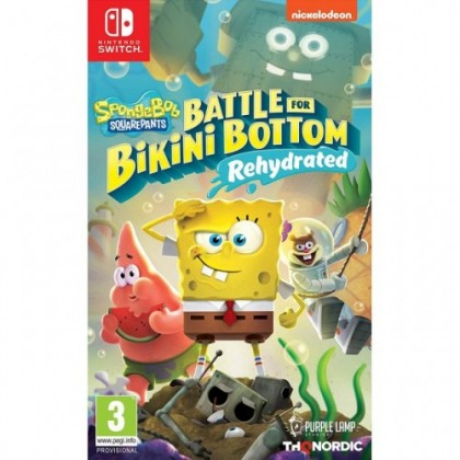 SWITCH SPONGEBOB SQUAREPANTS : BATTLE FOR BIKINI BOTTOM - REHYDRATED