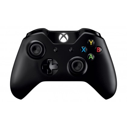 XBOX ONE WIRELESS CONTROLLER WITH 3.5MM JACK & BLUETOOTH BLACK + USB CHARGING CABLE