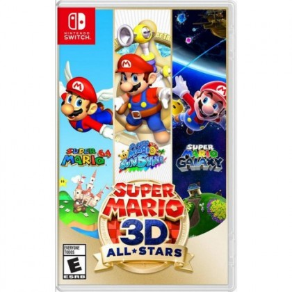 SWITCH SUPER MARIO 3D ALL-STARS - US ENGLISH