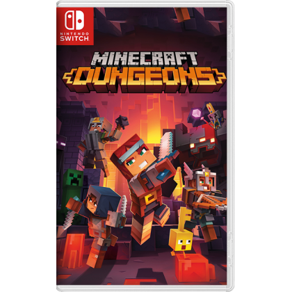 SWITCH MINECRAFT DUNGEONS HERO EDITION - ENGLISH