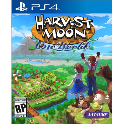 PS4 HARVEST MOON ONE WORLD - R1 ENGLISH [PRE ORDER Q4 2020]