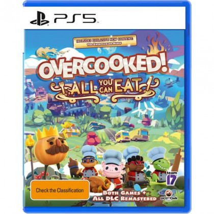 PS5 OVERCOOKED ! ALL YOU CAN EAT - R2 CHN/ENG [PRE ORDER Q4 2020]