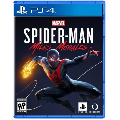 PS4 MARVEL'S SPIDERMAN MILES MORALES - R3 CHN/ENG