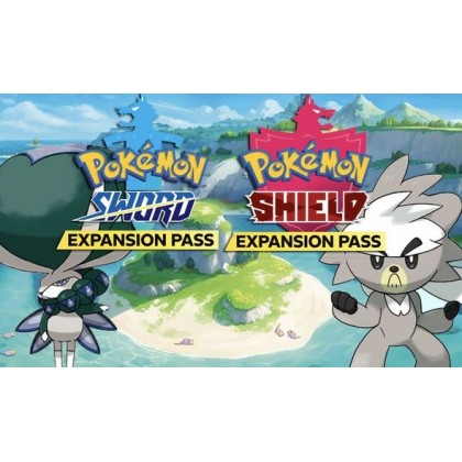 SWITCH POKEMON SHIELD + EXPANSION PASS - US CHN/ENG + FREE POSTER