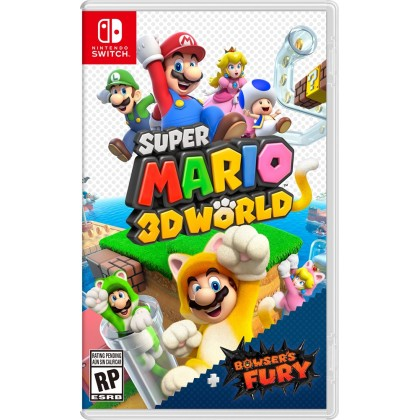 SWITCH SUPER MARIO 3D WORLD + BROWSER'S FURY - US CHN/ENG [PRE ORDER 12/02/2021]
