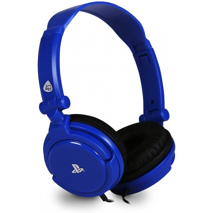 PLAYSTATION 4GAMERS PRO4-10 STEREO GAMING HEADSET - BLUE