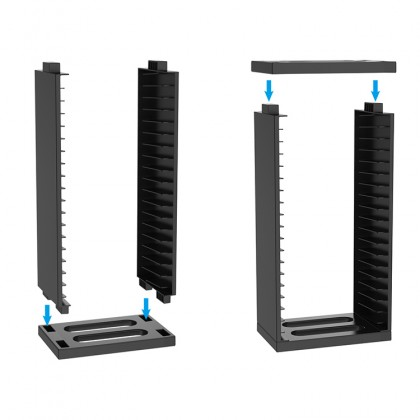 PS4 DOBE GAME STORAGE STAND 18 GAME HOLDER TP4-19221