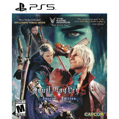 PS5 DEVIL MAY CRY 5 SPECIAL EDITION - CHN/ENG