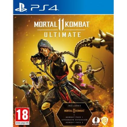PS4 MORTAL KOMBAT 11 ULTIMATE EDITION - R3 CHN/ENG